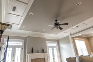 painted ceilings with interior paint