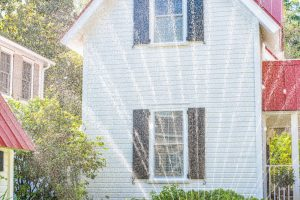 sprinklers that need to be turned off for prepping your house to paint